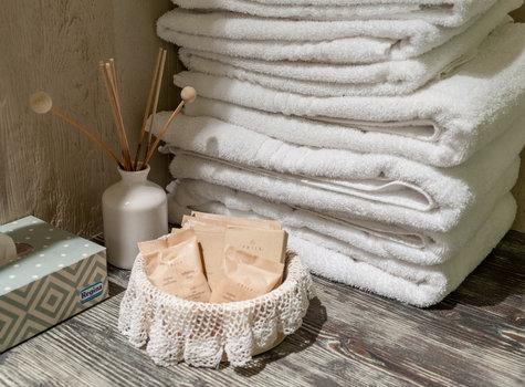 Kit asciugamani bagno agriturismo ca sorda