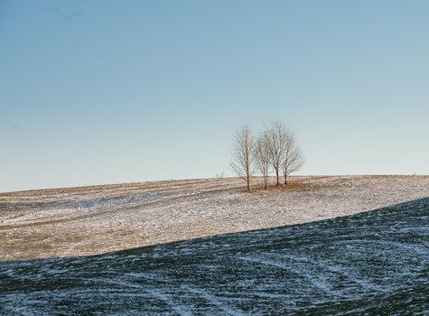 Paesaggio invernale da ca sorda